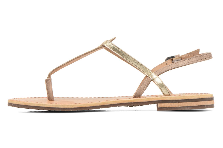 Sandales et nu-pieds Geox D SOZY F D622CF Beige vue face