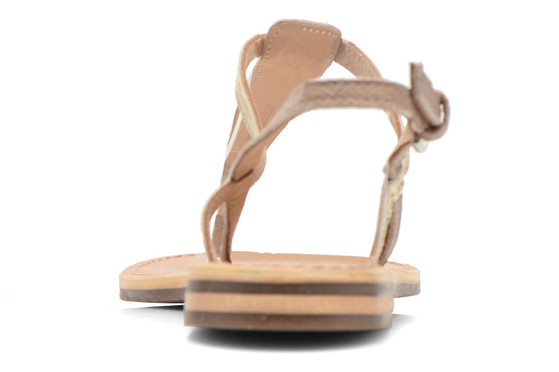 Sandales et nu-pieds Geox D SOZY F D622CF Beige vue droite