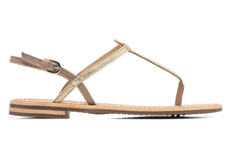 Sandales et nu-pieds Geox D SOZY F D622CF Beige vue derrière