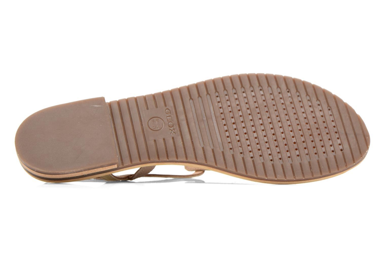 Sandales et nu-pieds Geox D SOZY F D622CF Beige vue haut