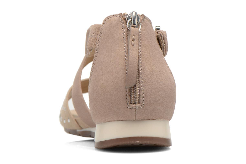Sandales et nu-pieds Geox D FORMOSA D D6293D Beige vue droite