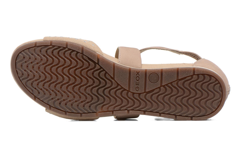 Sandales et nu-pieds Geox D FORMOSA D D6293D Beige vue haut
