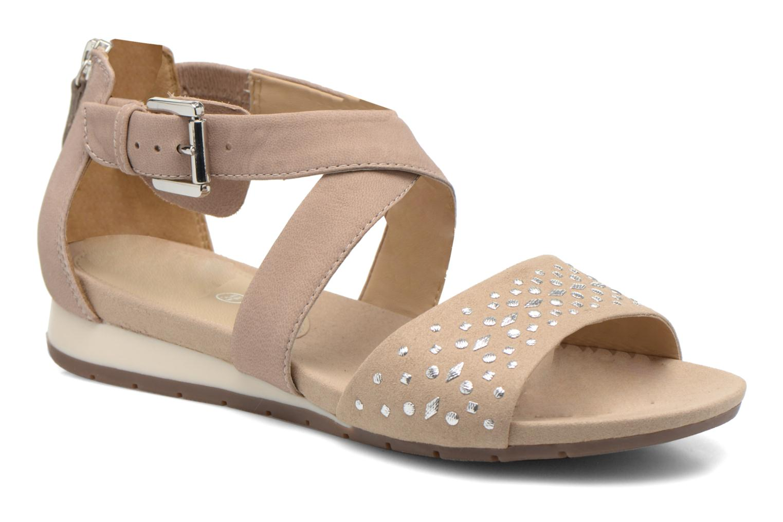 Sandales et nu-pieds Geox D FORMOSA D D6293D Beige vue détail/paire