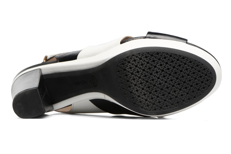 Sandales et nu-pieds Geox D HERITAGE B D62R1B Noir vue haut