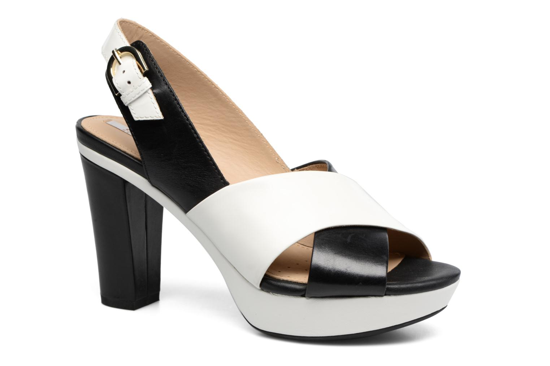 Sandales et nu-pieds Geox D HERITAGE B D62R1B Noir vue détail/paire