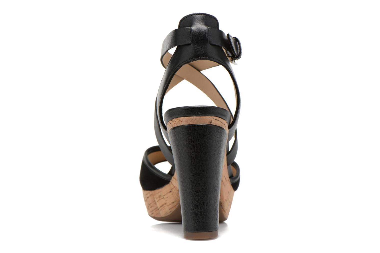 Sandales et nu-pieds Geox D HERITAGE A D62R1A Noir vue droite
