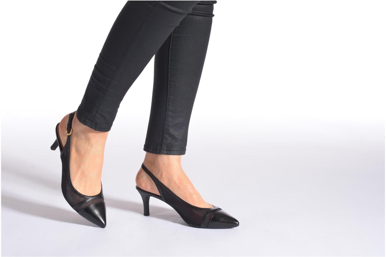 Zapatos de tacón Geox D ELINA C D62P8C Negro vista de abajo