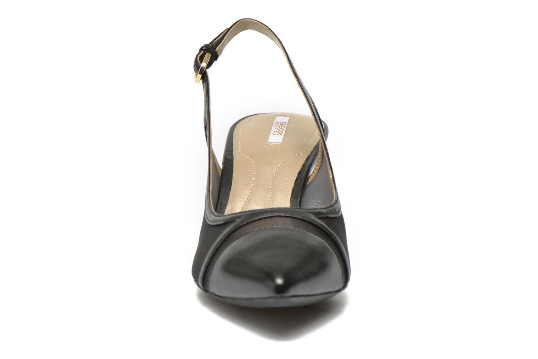 High heels Geox D ELINA C D62P8C Black model view