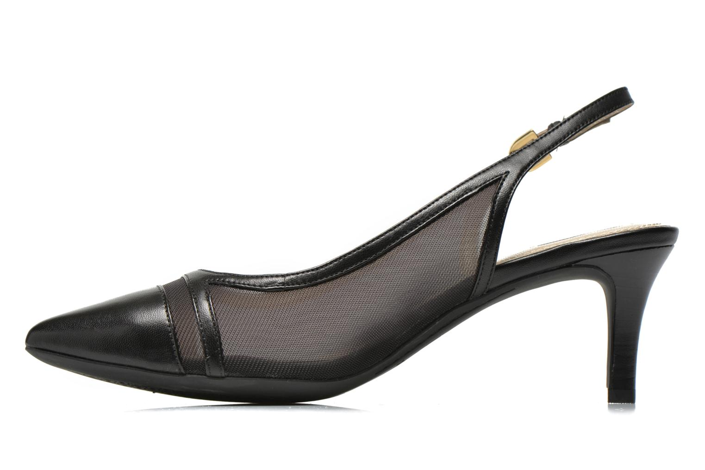 High heels Geox D ELINA C D62P8C Black front view