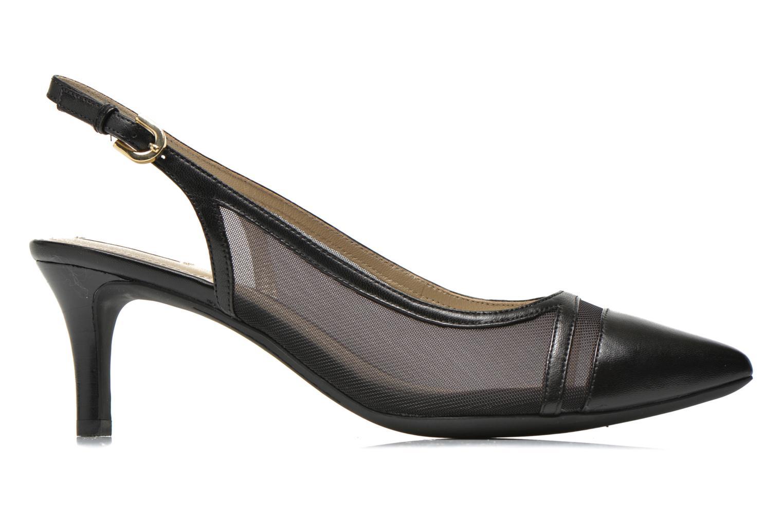 High heels Geox D ELINA C D62P8C Black back view