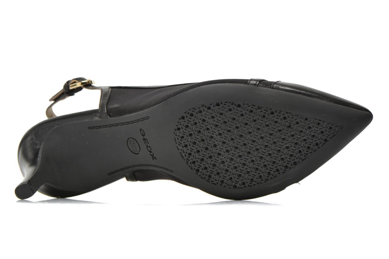 Zapatos de tacón Geox D ELINA C D62P8C Negro vista de arriba