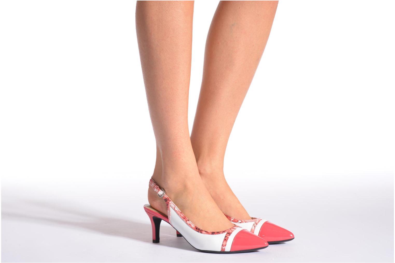 Zapatos de tacón Geox D ELINA B D62P8B Rosa vista de abajo