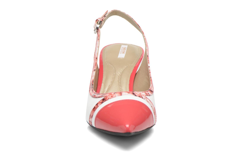 Zapatos de tacón Geox D ELINA B D62P8B Rosa vista del modelo