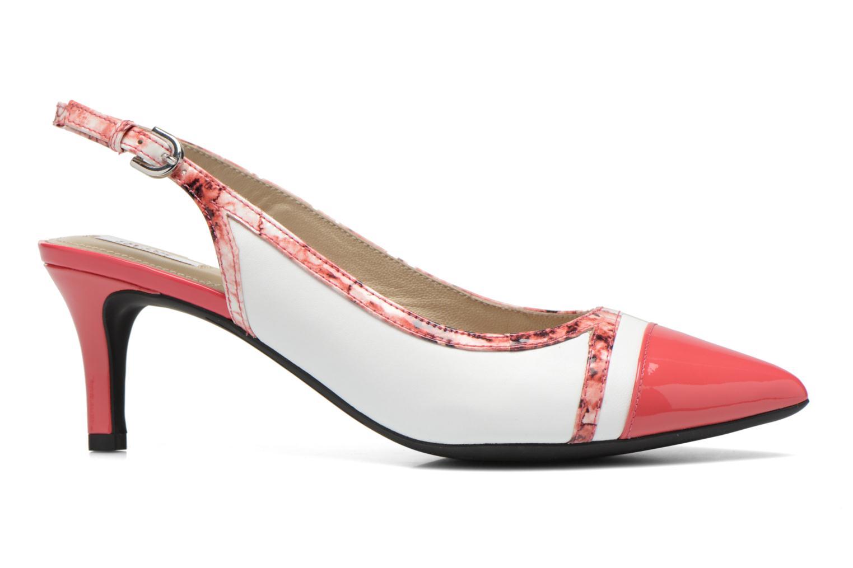 Zapatos de tacón Geox D ELINA B D62P8B Rosa vistra trasera