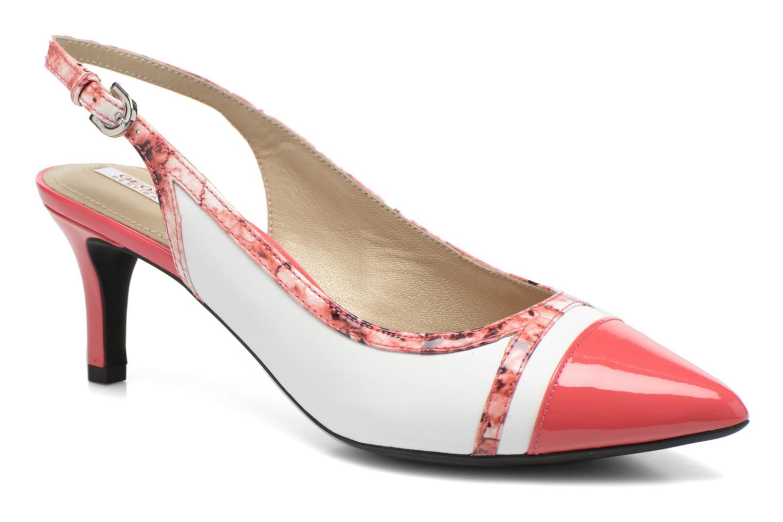 Zapatos de tacón Geox D ELINA B D62P8B Rosa vista de detalle / par