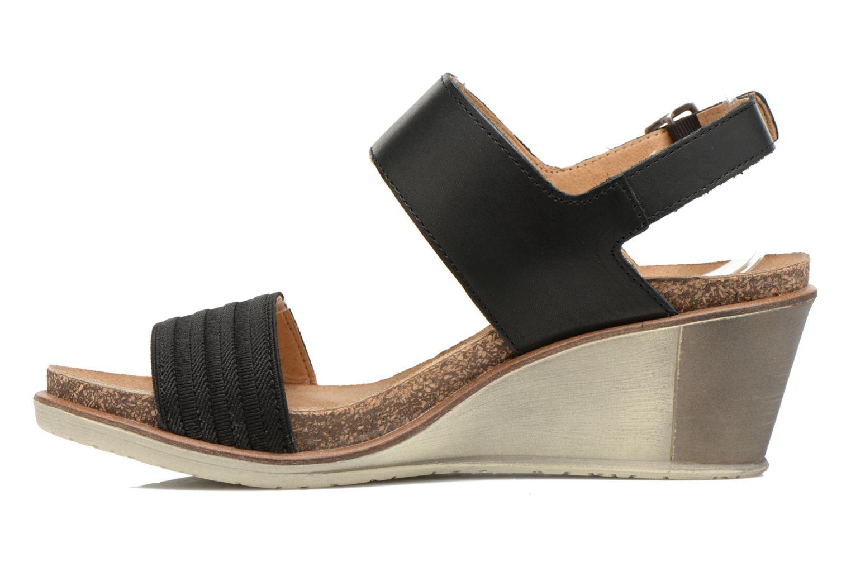 Sandales et nu-pieds P-L-D-M By Palladium Sheldon Vgt Noir vue face