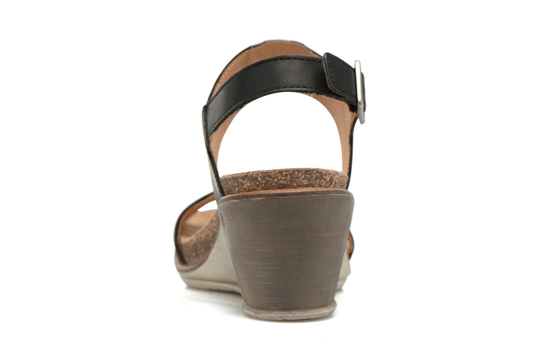 Sandales et nu-pieds P-L-D-M By Palladium Sheldon Vgt Noir vue droite