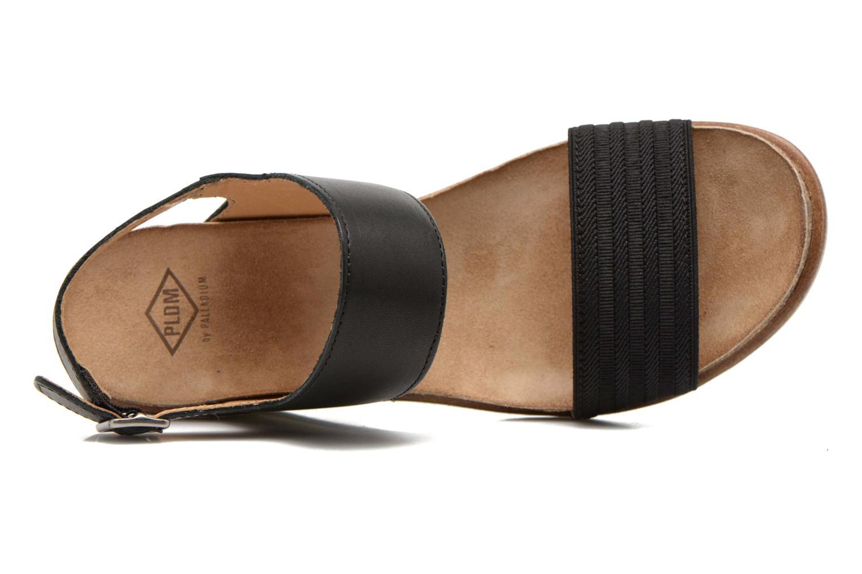 Sandales et nu-pieds P-L-D-M By Palladium Sheldon Vgt Noir vue gauche