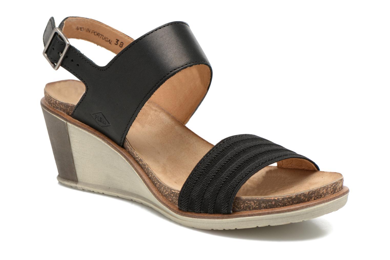 Sandales et nu-pieds P-L-D-M By Palladium Sheldon Vgt Noir vue détail/paire