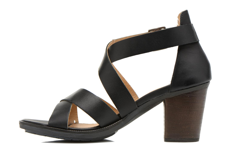 Sandales et nu-pieds P-L-D-M By Palladium Getty Frl Noir vue face