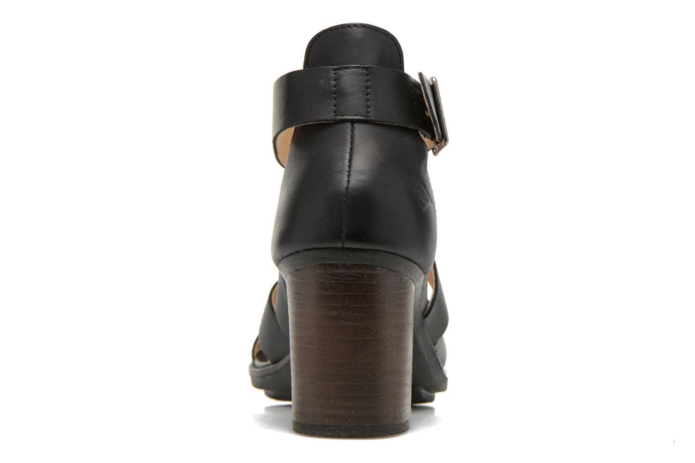 Sandales et nu-pieds P-L-D-M By Palladium Getty Frl Noir vue droite