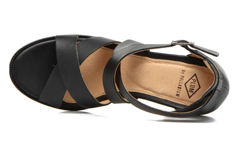 Sandales et nu-pieds P-L-D-M By Palladium Getty Frl Noir vue gauche
