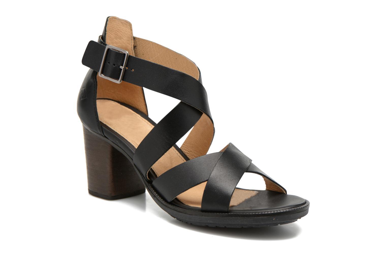 Sandales et nu-pieds P-L-D-M By Palladium Getty Frl Noir vue détail/paire