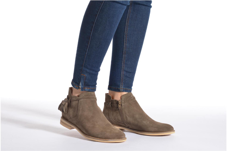 Bottines et boots P-L-D-M By Palladium Savory Sud Marron vue bas / vue portée sac