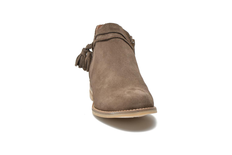 Bottines et boots P-L-D-M By Palladium Savory Sud Marron vue portées chaussures