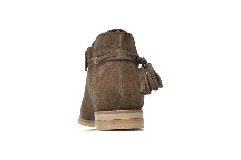 Bottines et boots P-L-D-M By Palladium Savory Sud Marron vue droite