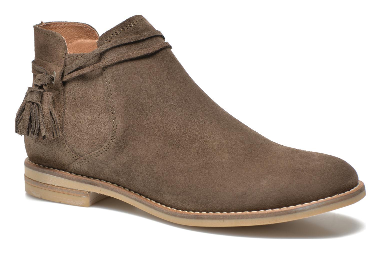 Bottines et boots P-L-D-M By Palladium Savory Sud Marron vue détail/paire