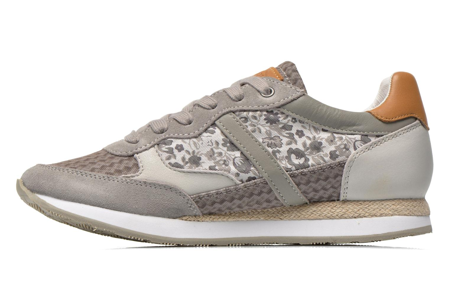 Segundo Print W Light Grey/Flower