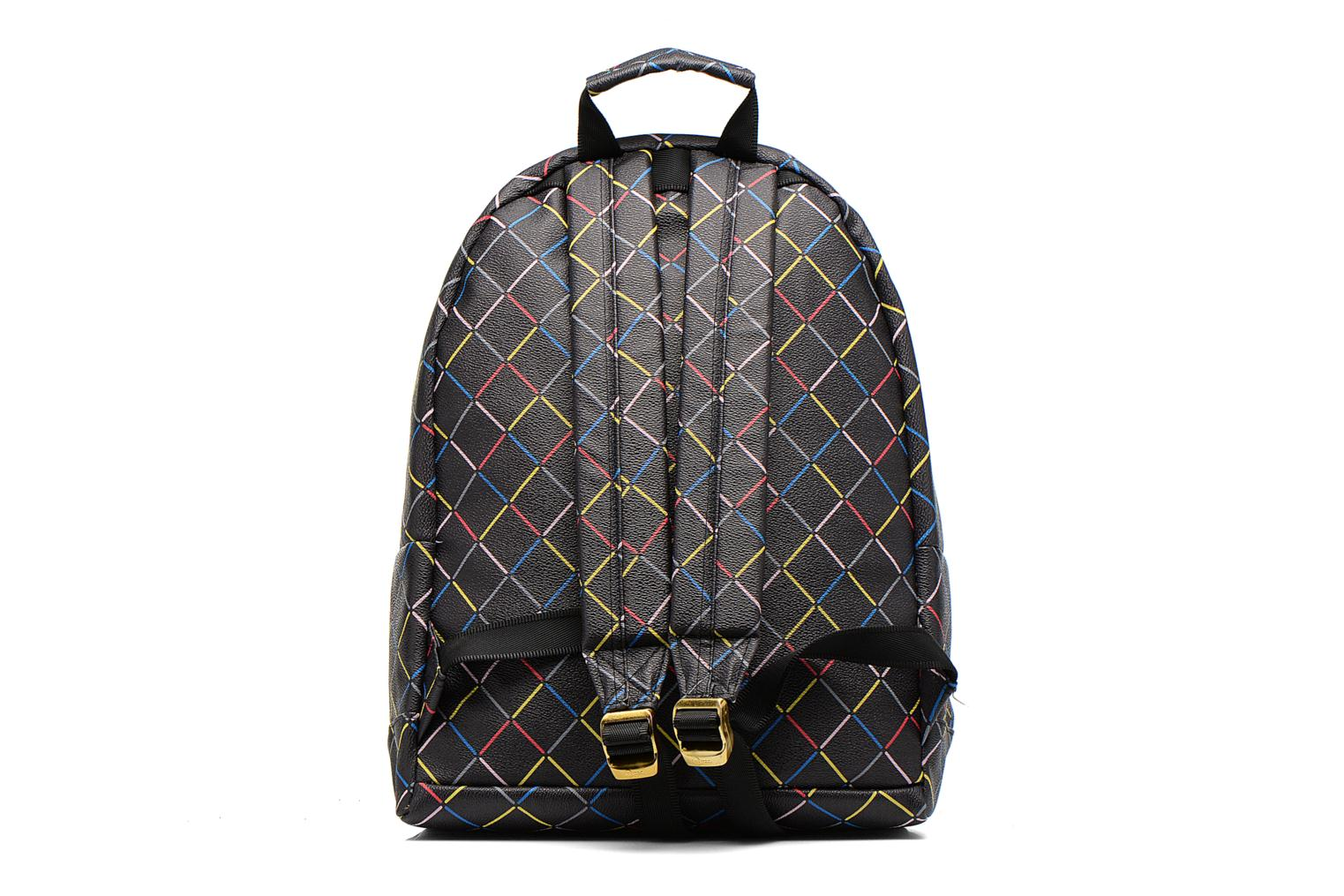 Gold crisscross Backpack Black