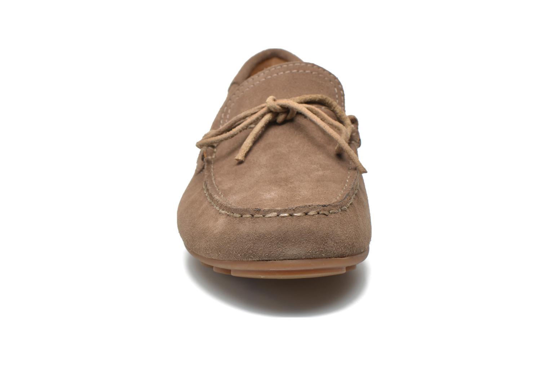 Mocassins Geox U GIONA D U620XD Beige vue portées chaussures