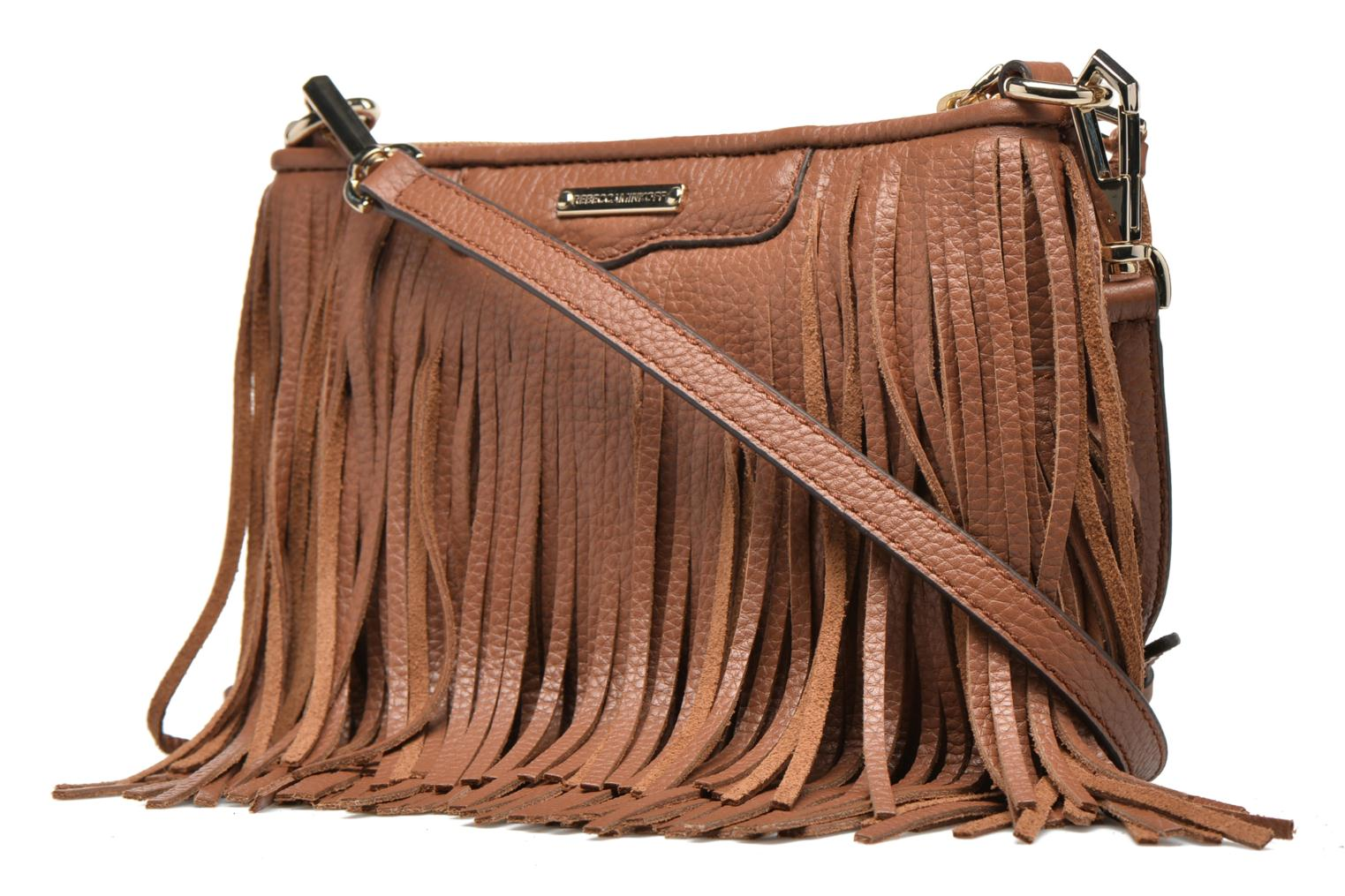 Finn Crossbody Almond - Light Gold