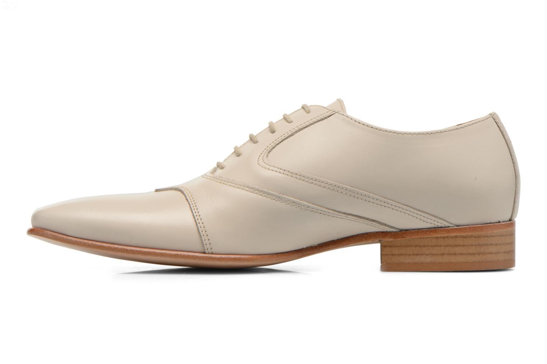 Zapatos con cordones Le Formier Kach11A Beige vista de frente