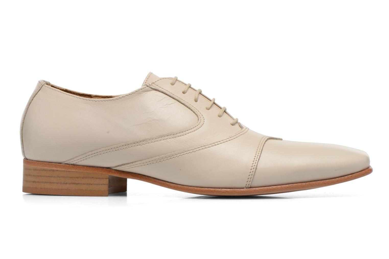Zapatos con cordones Le Formier Kach11A Beige vistra trasera