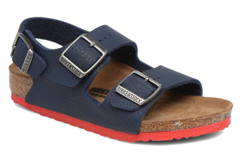 Chaussures Bleu Birkenstock Milano WZg1bqfC