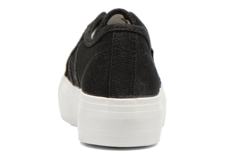 Baskets Refresh Cory 61908 Noir vue droite