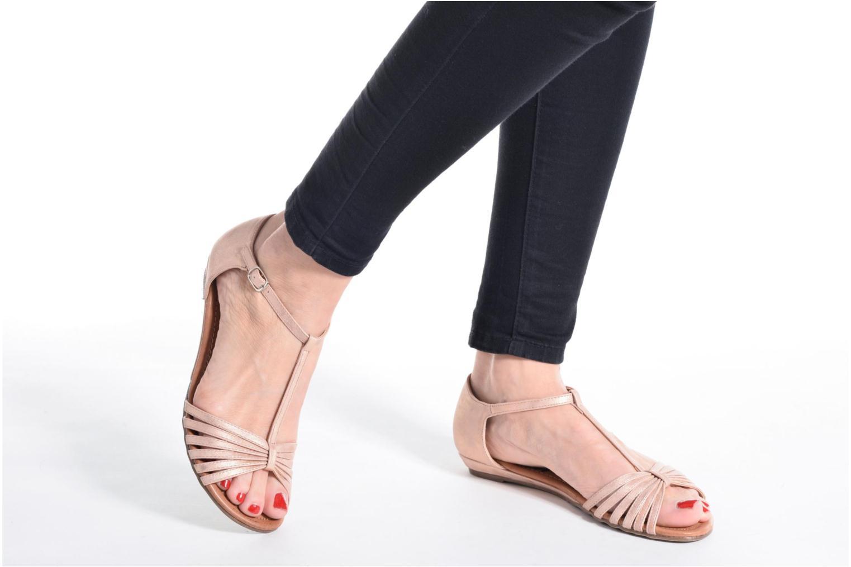 Sandales et nu-pieds Refresh Casey 61767 Gris vue bas / vue portée sac