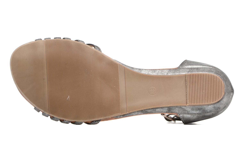 Sandales et nu-pieds Refresh Casey 61767 Gris vue haut