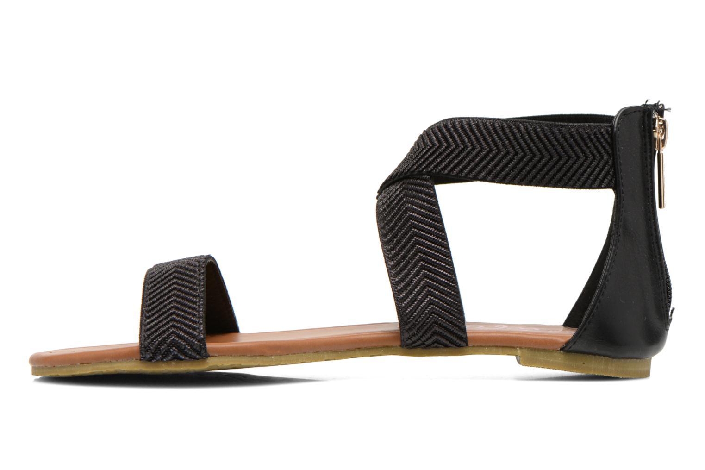 Sandales et nu-pieds Refresh Ballade 61831 Noir vue face