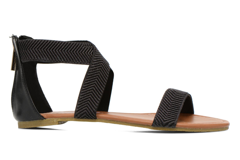 Sandales et nu-pieds Refresh Ballade 61831 Noir vue derrière