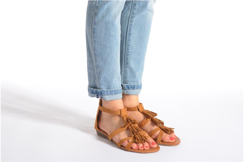 Sandales et nu-pieds Refresh Festival 61859 Noir vue bas / vue portée sac