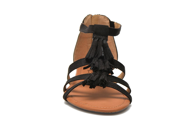 Sandales et nu-pieds Refresh Festival 61859 Noir vue portées chaussures