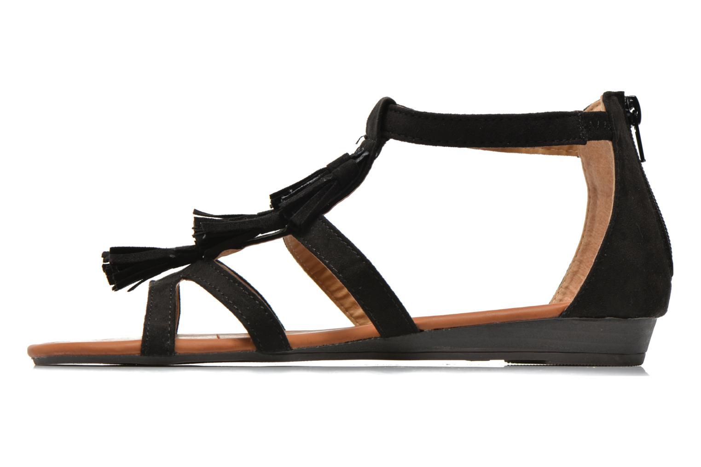Sandales et nu-pieds Refresh Festival 61859 Noir vue face
