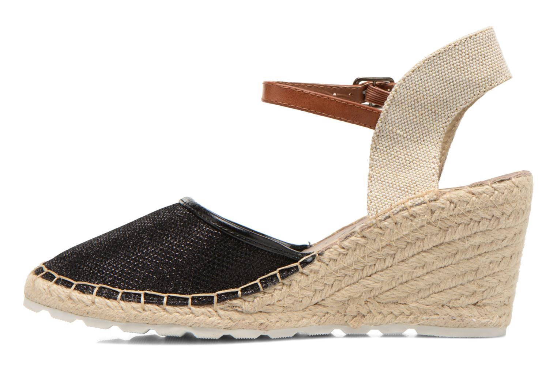 Sandales et nu-pieds Refresh Gipsy 62034 Noir vue face