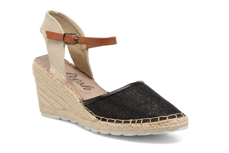 Sandales et nu-pieds Refresh Gipsy 62034 Noir vue détail/paire