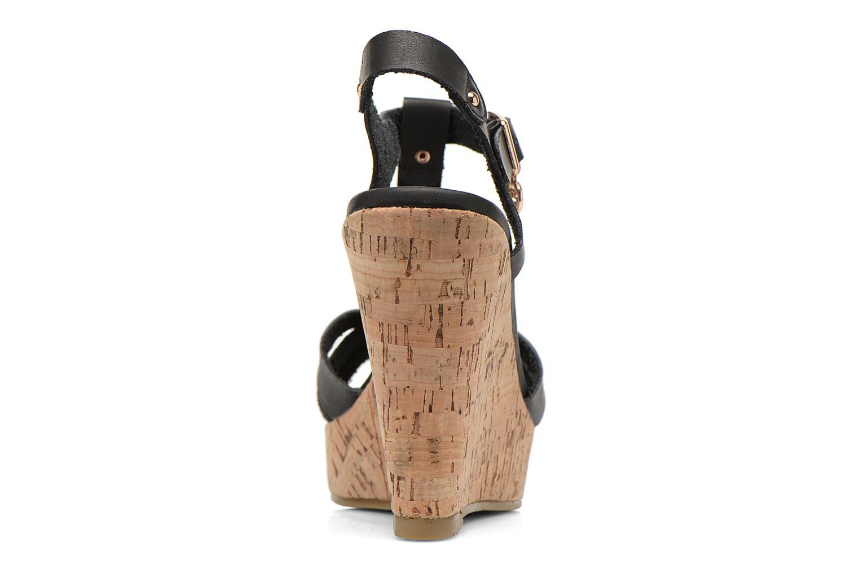 Sandales et nu-pieds Refresh Jungle 61823 Noir vue droite