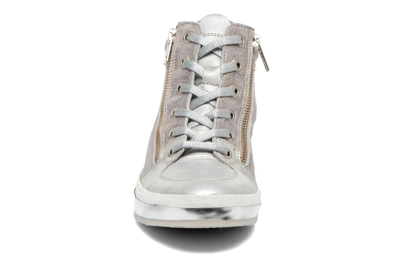 Baskets Khrio Fuvika Argent vue portées chaussures